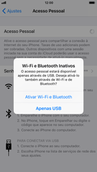 Apple iPhone iOS 11 - Wi-Fi - Como usar seu aparelho como um roteador de rede wi-fi - Etapa 7