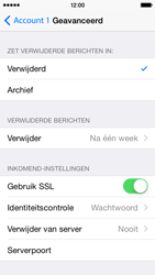 Apple iPhone 5c - iOS 8 - E-mail - handmatig instellen - Stap 23