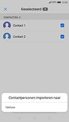 Huawei p10-met-android-oreo-model-vtr-l09 - Contacten en data - Contacten kopiëren van SIM naar toestel - Stap 8