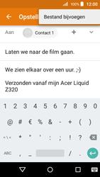 Acer Liquid Z320 - E-mail - e-mail versturen - Stap 10
