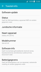 Samsung A3 (2016) - Netwerk - Software updates installeren - Stap 6