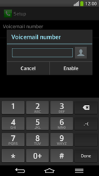 LG D955 G Flex - Voicemail - Manual configuration - Step 8