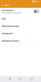 LG G6 (LG-H870) - SMS - Handmatig instellen - Stap 6