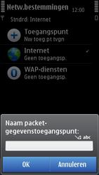 Nokia N8-00 - MMS - handmatig instellen - Stap 11