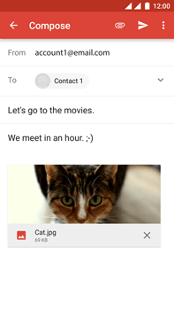 OnePlus 3 - E-mail - Sending emails - Step 15