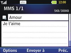 LG C320 InTouch Lady - MMS - Envoi d