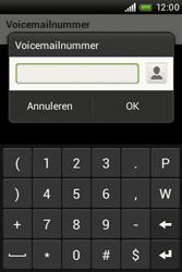 HTC A320e Desire C - Voicemail - Handmatig instellen - Stap 7