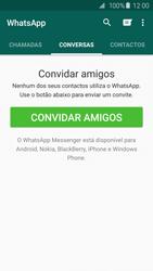 Samsung Galaxy S6 - Aplicações - Como configurar o WhatsApp -  15