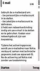 Nokia 5230 - E-mail - handmatig instellen - Stap 8