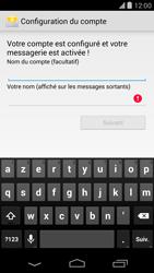 LG D821 Google Nexus 5 - E-mail - Configuration manuelle - Étape 19