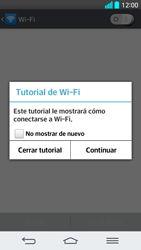 LG G2 - WiFi - Conectarse a una red WiFi - Paso 5