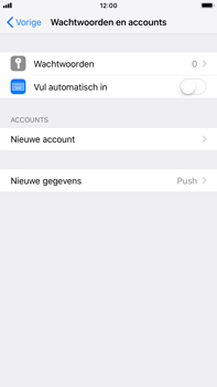 Apple iPhone 8 Plus - iOS 12 - E-mail - Account instellen (POP3 zonder SMTP-verificatie) - Stap 4