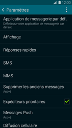 Samsung G900F Galaxy S5 - SMS - configuration manuelle - Étape 6