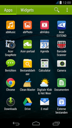 Acer Liquid Z500 - SMS - handmatig instellen - Stap 3