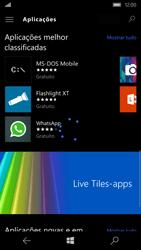 Microsoft Lumia 550 - Aplicações - Como pesquisar e instalar aplicações -  9