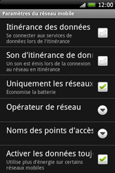 HTC A6262 Hero - Internet - Configuration manuelle - Étape 6