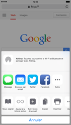 Apple iPhone 6 Plus iOS 8 - Internet - navigation sur Internet - Étape 16