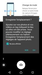 Sony Xperia XZ (F8331) - Photos, vidéos, musique - Créer une vidéo - Étape 4