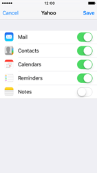 Apple iPhone 5 iOS 9 - E-mail - Manual configuration (yahoo) - Step 8