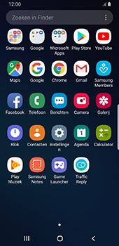 Samsung galaxy-s9-android-pie - Contactgegevens overzetten - delen via Bluetooth - Stap 3