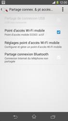 Sony Xpéria M2 - Internet et connexion - Partager votre connexion en Wi-Fi - Étape 14