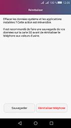 Huawei Y6 II Compact - Device maintenance - Retour aux réglages usine - Étape 7