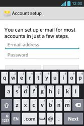 LG E610 Optimus L5 - Email - Manual configuration POP3 with SMTP verification - Step 6