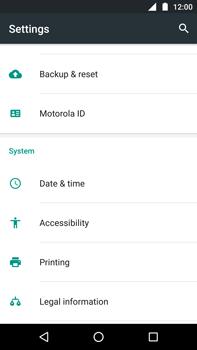 Motorola Moto Z Play - Device - Factory reset - Step 3