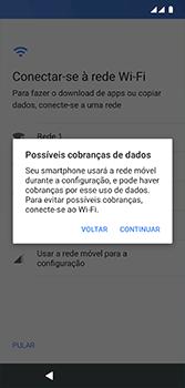 Motorola Moto G7 - Primeiros passos - Como ativar seu aparelho - Etapa 9