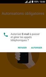 Alcatel U3 - E-mails - Ajouter ou modifier votre compte Yahoo - Étape 4