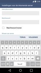 LG LG K10 4G (K420) - E-mail - e-mail instellen: POP3 - Stap 11
