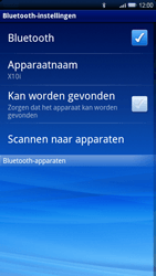 Sony Ericsson Xperia X10 - Bluetooth - headset, carkit verbinding - Stap 6