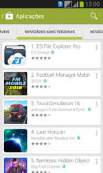Samsung Galaxy Fresh Duos - Aplicações - Como pesquisar e instalar aplicações -  10