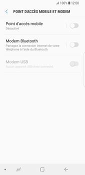 Samsung Galaxy S9 - Internet et connexion - Partager votre connexion en Wi-Fi - Étape 6