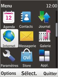 Nokia 6303i classic - Internet - Navigation sur Internet - Étape 2