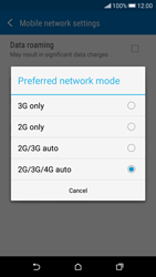 HTC Desire 626 - Network - Change networkmode - Step 7