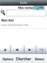Nokia C2-03 - E-mail - envoyer un e-mail - Étape 9