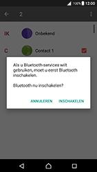 Sony xperia-z5-e6653-android-nougat - Contacten en data - Contacten overzetten via Bluetooth - Stap 10