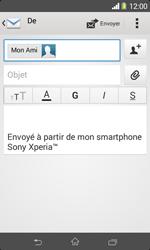 Sony D2005 Xperia E1 - E-mail - envoyer un e-mail - Étape 7