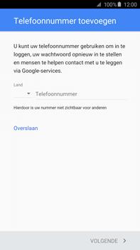 Samsung N920 Galaxy Note 5 - Applicaties - Account instellen - Stap 14