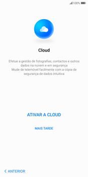 Huawei P Smart - Primeiros passos - Como ligar o telemóvel pela primeira vez -  15