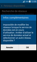 Samsung G357 Galaxy Ace 4 - Réseau - Sélection manuelle du réseau - Étape 10