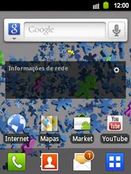 Samsung Galaxy Y - Mensagens - Como acessar e abrir mensagens multimídia (MMS) no celular - Etapa 3