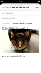 Apple iPhone 8 - e-mail - hoe te versturen - stap 14