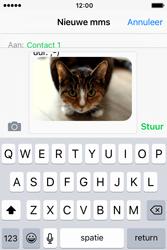 Apple iPhone 4S iOS 9 - MMS - hoe te versturen - Stap 12