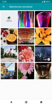 Sony Xperia XZ3 - MMS - envoi d'images - Étape 11