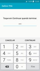 Samsung Galaxy A3 A310F 2016 - Segurança - Como ativar o código de bloqueio do ecrã -  8