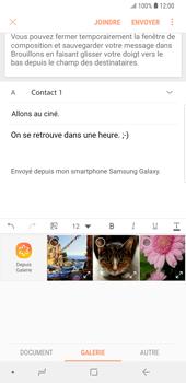 Samsung Galaxy S9 Plus - E-mails - Envoyer un e-mail - Étape 15