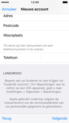 Apple iPhone 5c met iOS 10 (Model A1507) - Applicaties - Account aanmaken - Stap 23