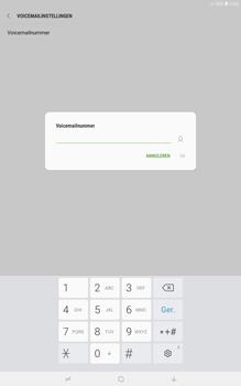 Samsung galaxy-tab-a-10-5-sm-t595 - Voicemail - Handmatig instellen - Stap 8